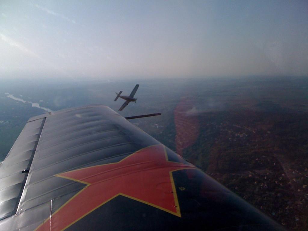 PA28 en vol